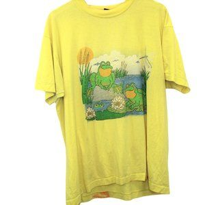 T177 Vintage Screen Stars Best Frog Graphic Shirt